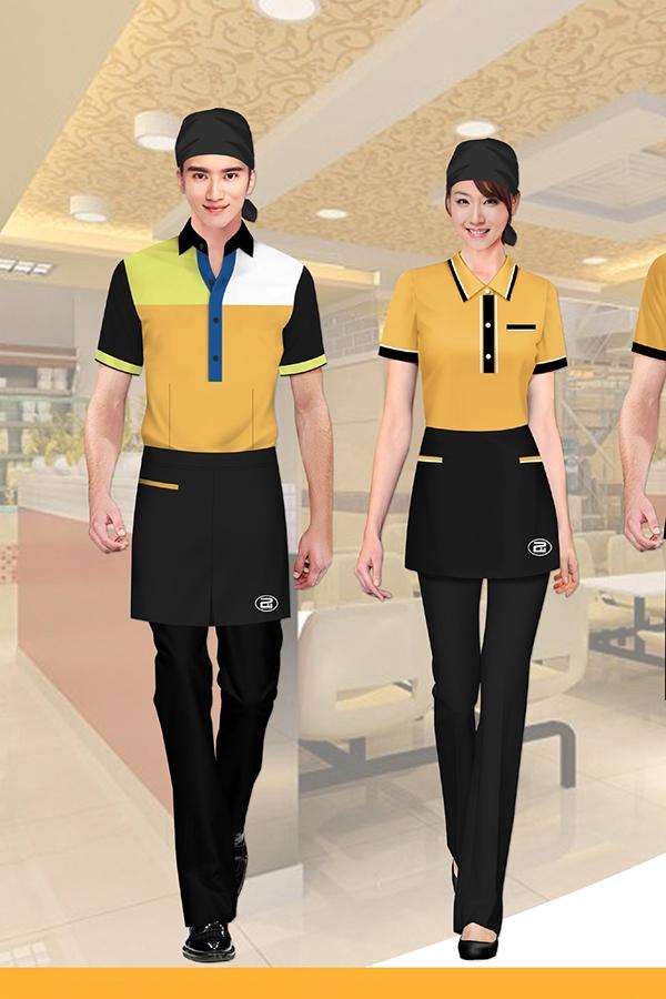 西式风格酒店服装定制