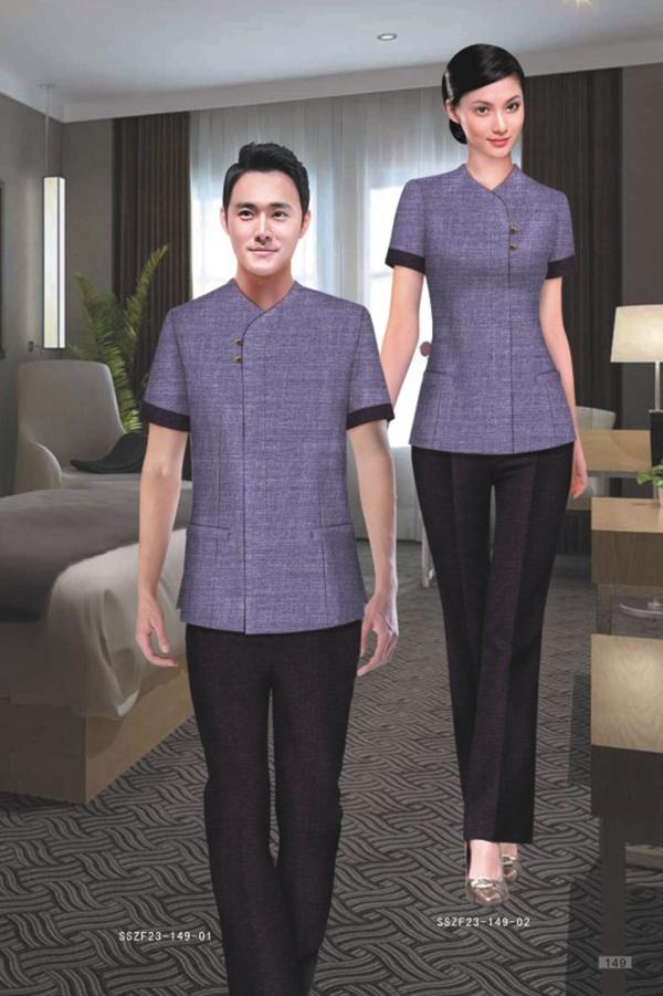 中式风格酒店服装厂家